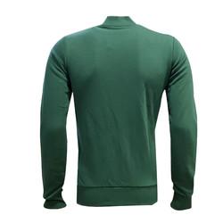 Sweat Fermuarlı Bursa Yeşil Beyaz - Thumbnail