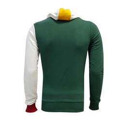BURSASTORE - Sweat Kapşonlu 5 Yıldz Yeşil Beyaz (1)