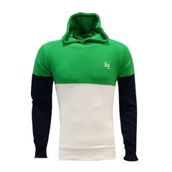 - Sweat Kapşonlu Bs Yeşil Beyaz