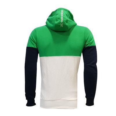 Sweat Kapşonlu Bs Yeşil Beyaz