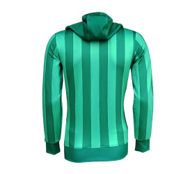 BURSASTORE - Sweat Kapşonlu Çubuklu Yeşil (1)