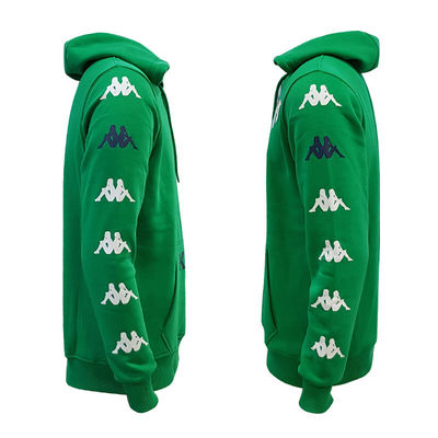 Sweat Kapşonlu Kappa Bursa Logo Yeşil