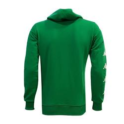 Sweat Kapşonlu Kappa Bursa Logo Yeşil - Thumbnail
