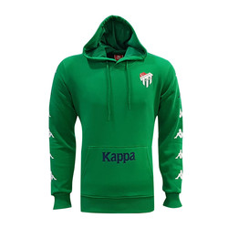 TELE - Sweat Kapşonlu Kappa Bursa Logo Yeşil
