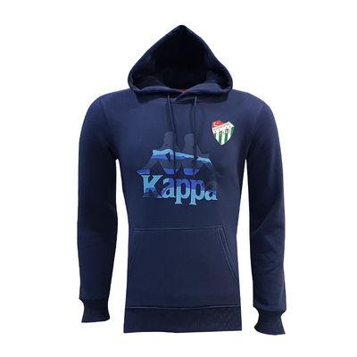 Sweat Kapşonlu Kappa Logo Lacivert