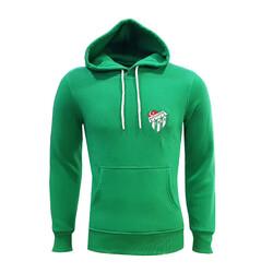 BURSASTORE - Sweat Kapşonlu Yeşil Logo