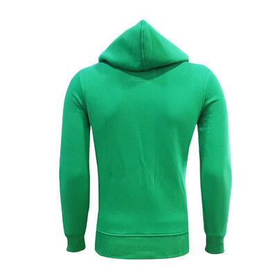 Sweat Kapşonlu Yeşil Logo