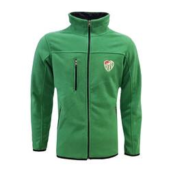 BURSASTORE - Sweat Polar Fermuarlı Yeşil Logo