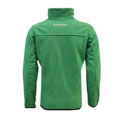 Sweat Polar Fermuarlı Yeşil Logo