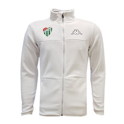 POLAR %25 - Sweat Polar Kappa Fermuarlı Beyaz