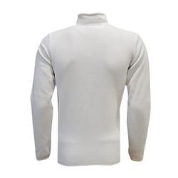 POLAR %25 - Sweat Polar Kappa Fermuarlı Beyaz (1)