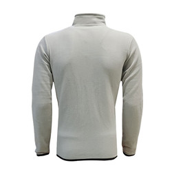 POLAR %25 - Sweat Polar Kappa Fermuarlı Gri (1)