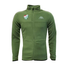 POLAR %25 - Sweat Polar Kappa Fermuarlı Haki