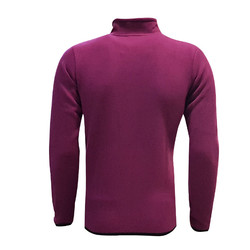 POLAR %25 - Sweat Polar Kappa Fermuarlı Mor (1)