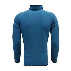 POLAR %25 - Sweat Polar Kappa Fermuarlı Petrol Mavi (1)