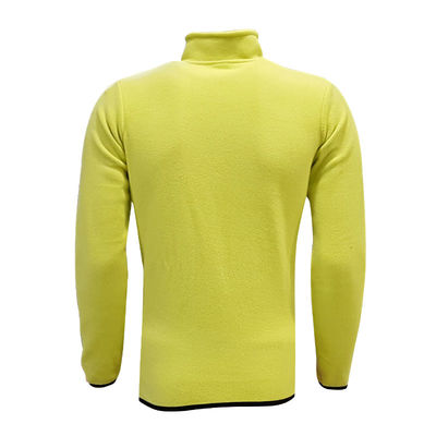 Sweat Polar Kappa Fermuarlı Sarı