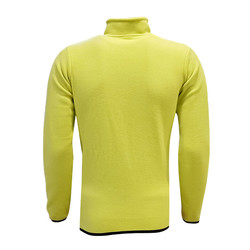 POLAR %25 - Sweat Polar Kappa Fermuarlı Sarı (1)