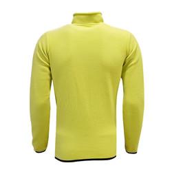 POLAR %25 - Sweat Polar Kappa Fermuarlı Sarı (1)
