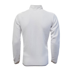 BURSASTORE - Sweat Polar Kappa Yarım Fermuar Beyaz (1)