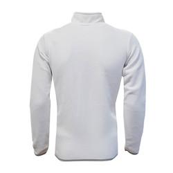 POLAR %25 - Sweat Polar Kappa Yarım Fermuar Beyaz (1)