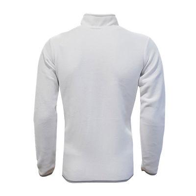 Sweat Polar Kappa Yarım Fermuar Beyaz