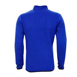 POLAR %25 - Sweat Polar Kappa Yarım Fermuar Mavi (1)
