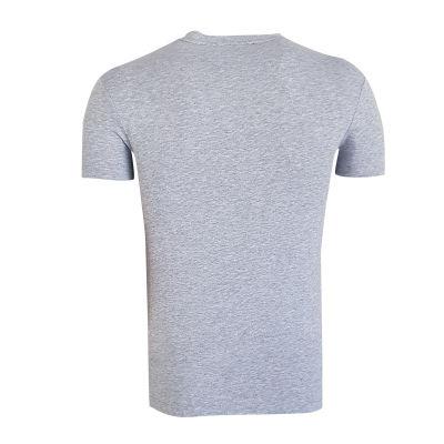 T-Shirt 0 Yaka Bs Gri