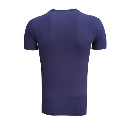 T-Shirt 0 Yaka Bs Lacivert