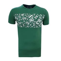 BURSASTORE - T-Shirt 0 Yaka Bs Yeşil