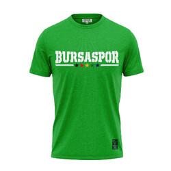 BURSASTORE - T-Shirt 0 Yaka Geliyoruz Yeşil