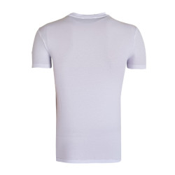 - T-Shirt 0 Yaka Nostalji Beyaz (1)