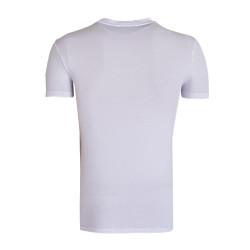 BURSASTORE - T-Shirt 0 Yaka Nostalji Beyaz (1)