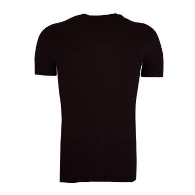T-Shirt 0 Yaka Nostalji Siyah