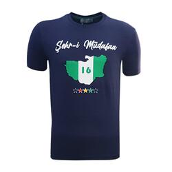BURSASTORE - T-Shirt 0 Yaka Şehr-i Müdafaa Lacivert