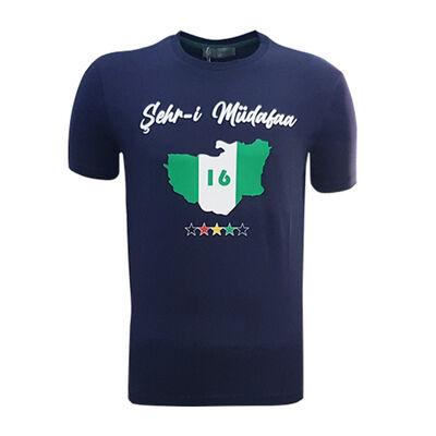 T-Shirt 0 Yaka Şehr-i Müdafaa Lacivert
