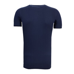 BURSASTORE - T-Shirt 0 Yaka Şehr-i Müdafaa Lacivert (1)