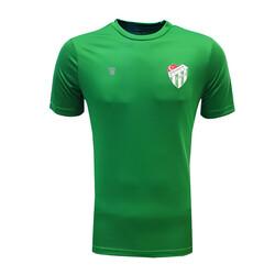 BURSASTORE - T-Shirt 0 Yaka Spf Ant. Yeşil Logo