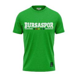 BURSASTORE - T-Shirt 0 Yaka Teksas Yeşil