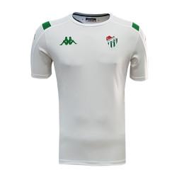 - T-Shirt Kappa 0 Yaka Beyaz