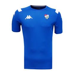- T-Shirt Kappa 0 Yaka Mavi