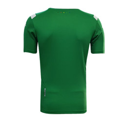 T-Shirt Kappa 0 Yaka Yeşil - Thumbnail