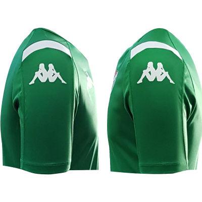T-Shirt Kappa 0 Yaka Yeşil