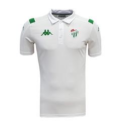 - T-Shirt Kappa Polo Yaka Beyaz