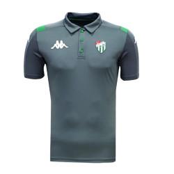 - T-Shirt Kappa Polo Yaka Füme
