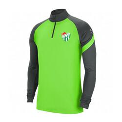 BURSASTORE - Sweat Nike Yarım Fermuar Yeşil