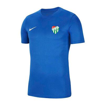 T-Shirt Nike 0 Yaka Mavi