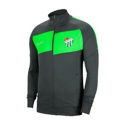 BURSASTORE - Sweat Nike Fermuarlı Füme Yeşil