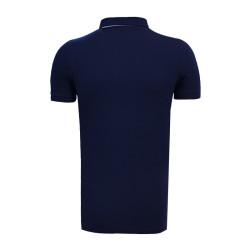 - T-Shirt Polo Yaka Baklava Yeşil Lacivert (1)