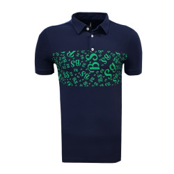 - T-Shirt Polo Yaka Bs Lacivert