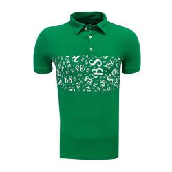 - T-Shirt Polo Yaka Bs Yeşil